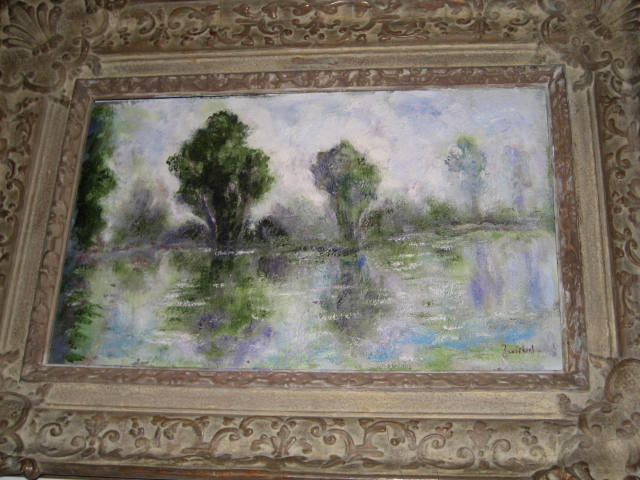 Oil on Board by Alfred Zwiebel,