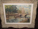 Hungarian Oil On Canvas Signed Kovacz,