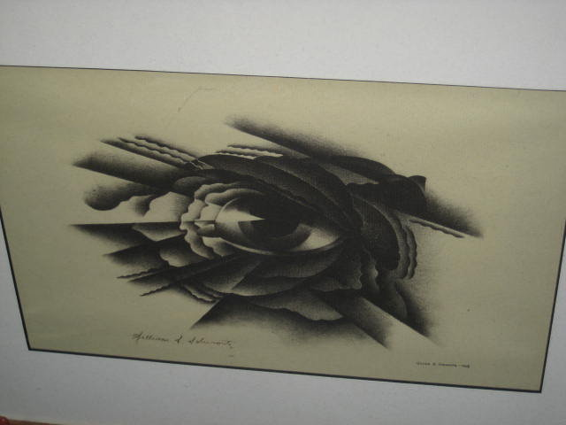 Original Signed Lithograph of  an