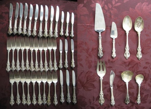 near mint condition Towle El Grandee salad fork