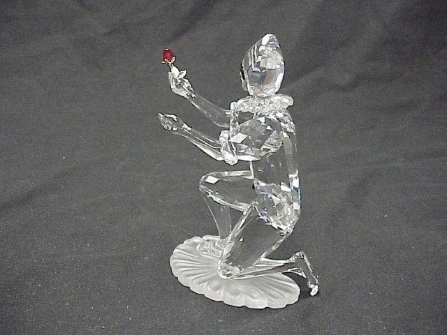2001 Swarovski Crystal Masquerade Figure Harlequin 5½