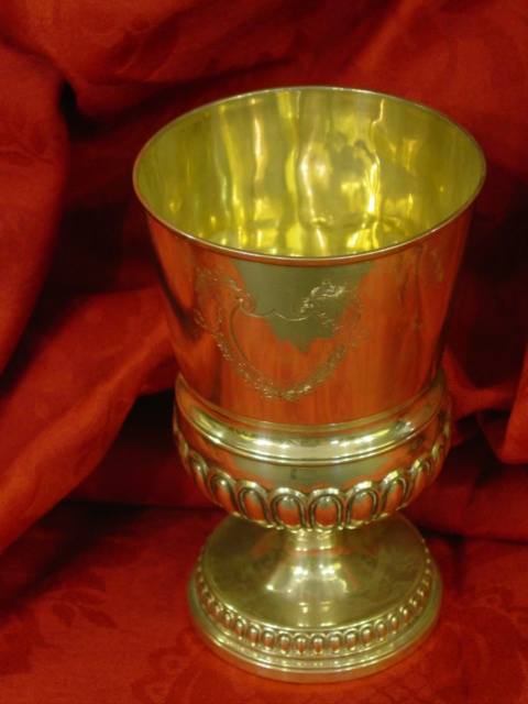 Georgian Sterling Silver Goblet