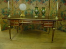 French flat top desk , Bureau Plat