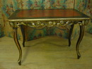 French  Lacquered Folding Table
