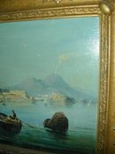 19th. cent. Painting of Bay of Naples