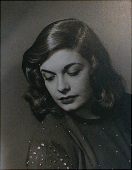 Portrait of Winnie Tanzes(?) by Ray Hand