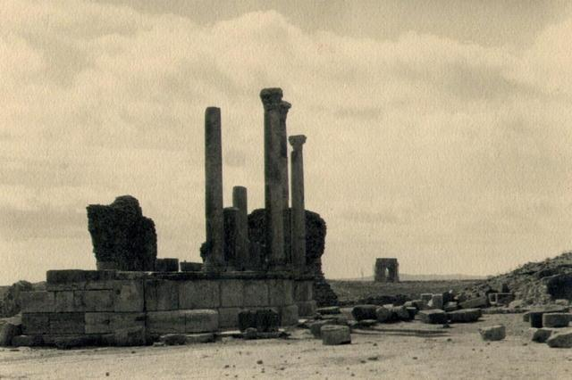 James D. Basey: Ruins, Tunisia, North Africa