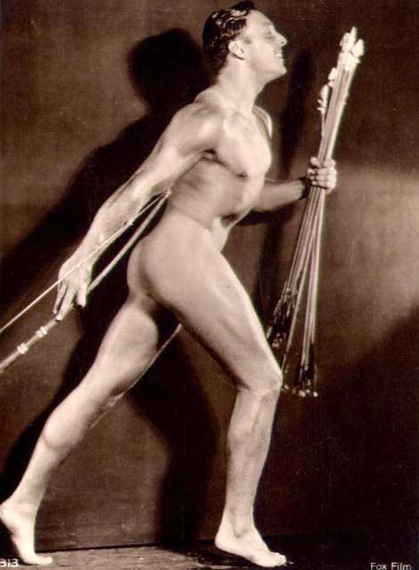 A. N. Studio, Paris: George O'Brien (bow and arrows)