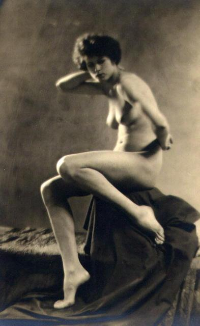 Nickolas Muray (attrib.): untitled female nude