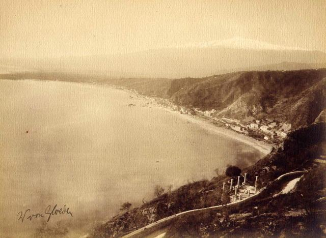 von Gloeden: View of Taormina - Vintage