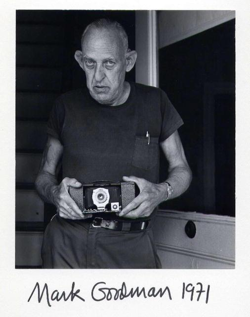 Goodman:  . F. with a Kodak Given to Him at Age 10 by His Brother