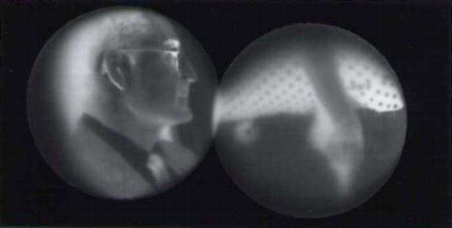 Norman Kulkin: untitled photogram (number 1125)