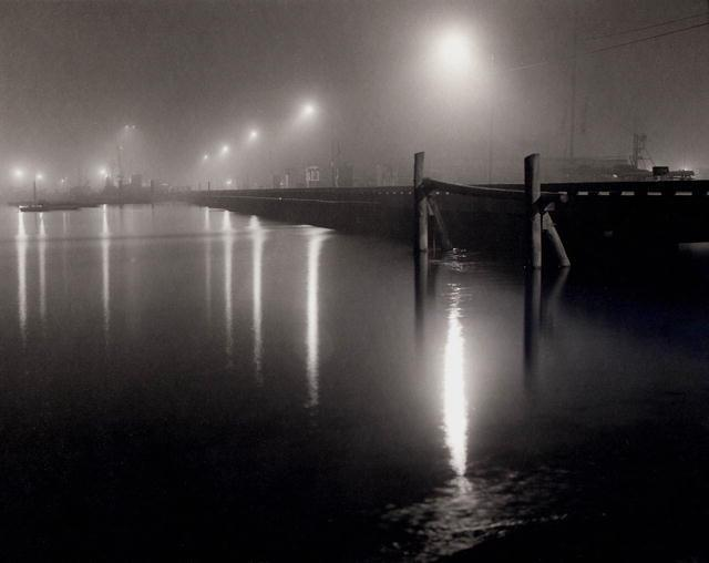 Peter Mc Donough: Midnight Fog MacMillian Pier, Provincetown
