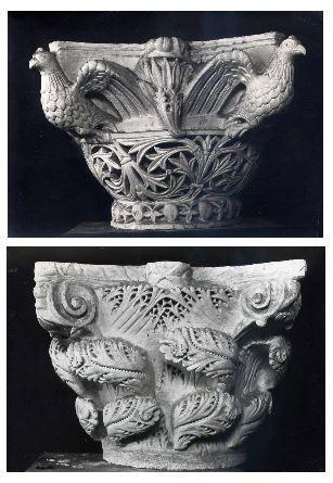 Greek Corinthian Column Capitals