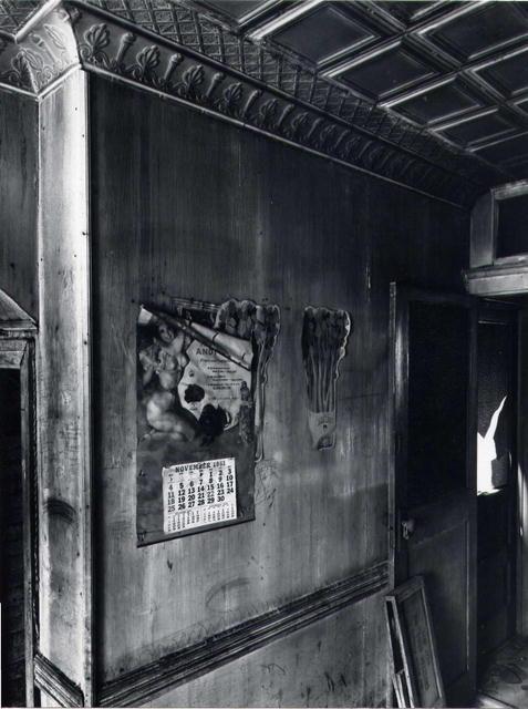 Danny Lyon: Room in Washington Market, New York