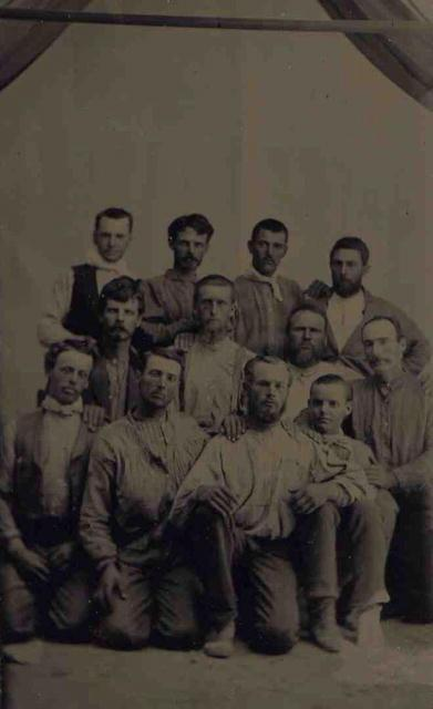 Group of Workers (tintype)