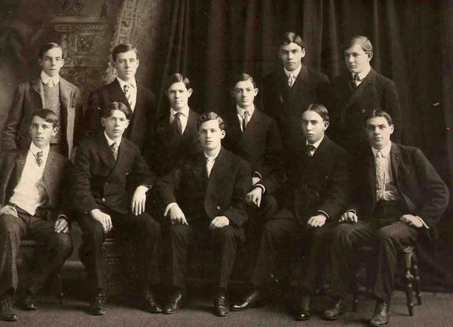 Portrait of Eleven Boys