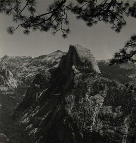 Norman Van Pelt: Half Dome, Yosemite