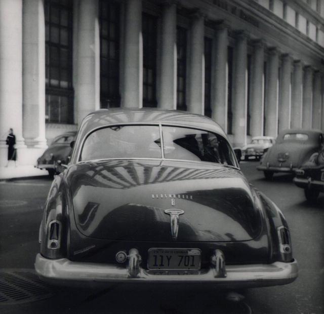 William Heick: Car on Montgomery Street