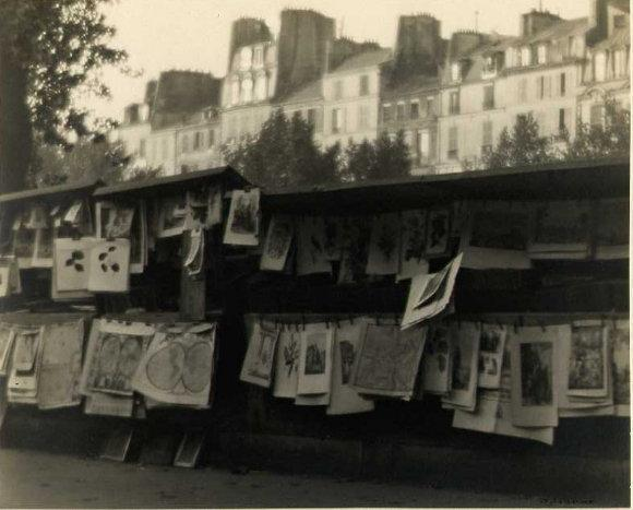 William C. Odiorne: Print and Map Kiosks, Paris
