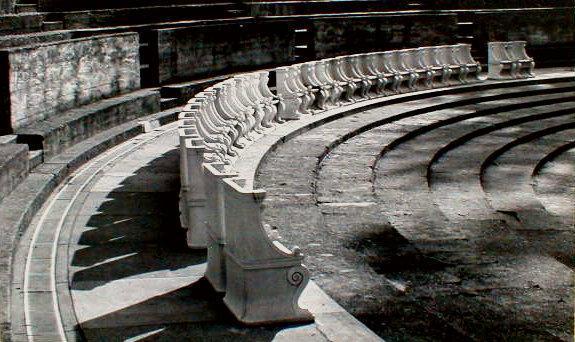Greek Theatre, UC Berkeley - vintage