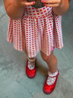 Rebecca Martinez: Little Dot's Ruby Slippers