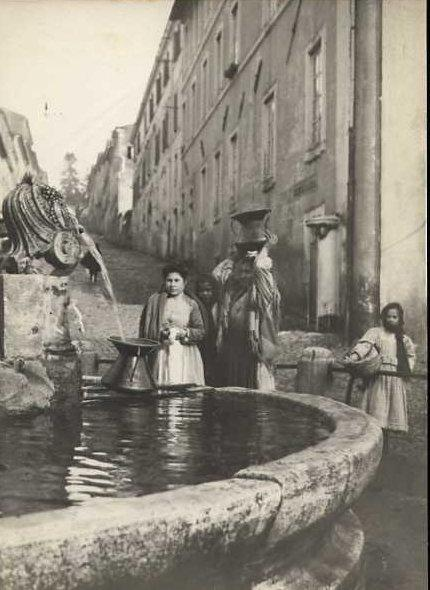 Women at the Water Source - pictorialism