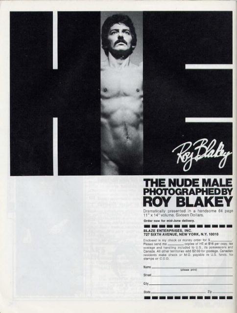 Roy Blakey: Tony Sacco, Oct. 17, 1970