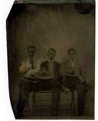 Three Boys with Hats