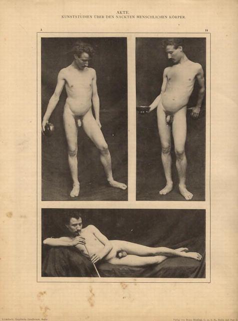 AKTE Nudes, plate 14