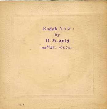 Early Kodak: untitled Double Exposure (man with landscape)