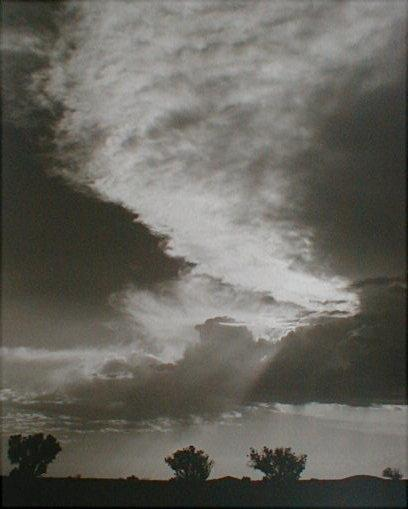 Sky at Dusk landscape by Norman Van Pelt
