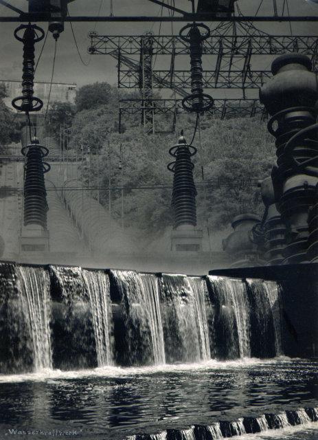Erich Angenendt: Wasserkraftwerk an der Ruhr (Hydroelectric plant on the Ruhr)