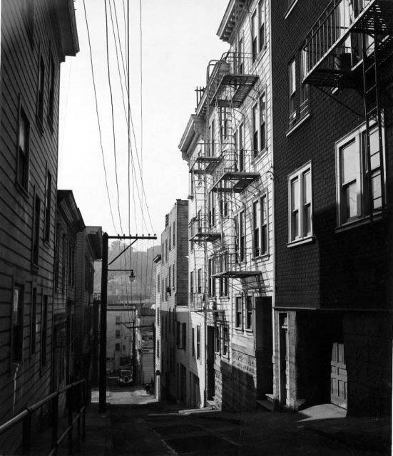 Harry Bowden: San Francisco, North Beach Alley