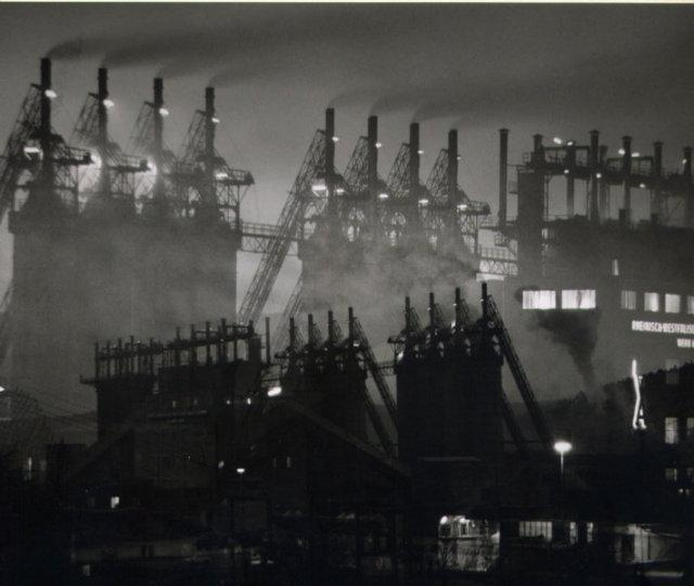 Erich Angenendt: Multiple Exposure Industrial Towers