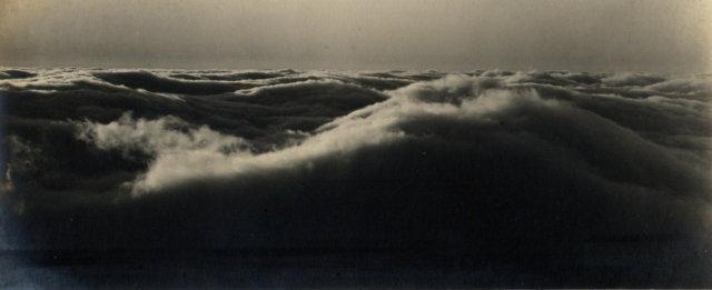 Clouds over Mount Tamalpais