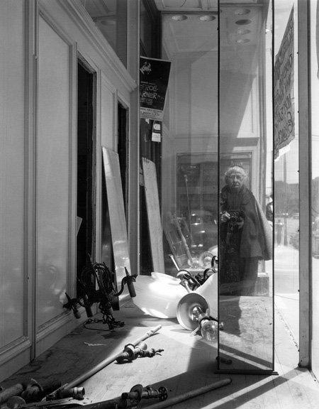 Imogen Cunningham: Self-Portrait on Geary Street