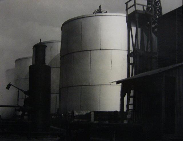 Imogen Cunningham: Signal Hill Tanks and Towers, 1920