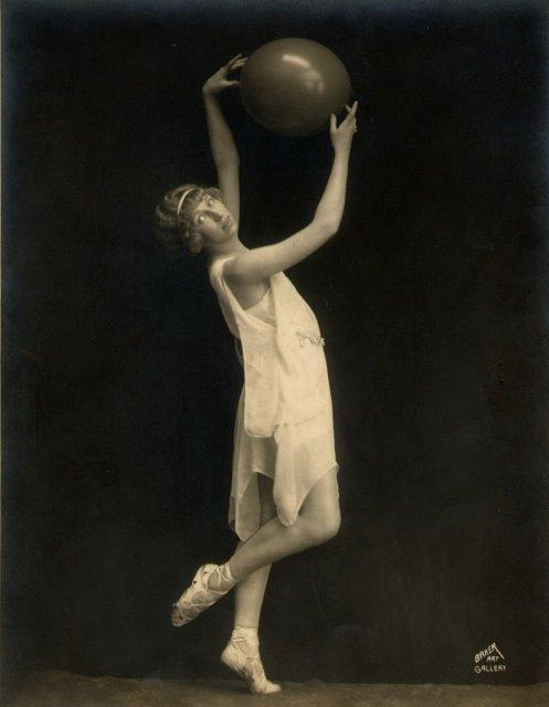 Woman Dancer with a Ball (#1)
