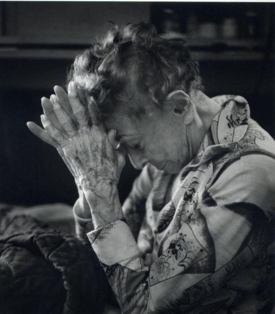 Margaretta Mitchell: Ruth's Hands I (Ruth Bernhard)