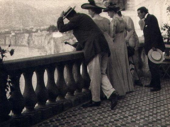 Karl Struss: The Balcony, Sorrento