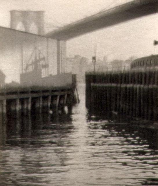Karl Struss: 'The Ghost Ship' - Waterfront, East Side, New York