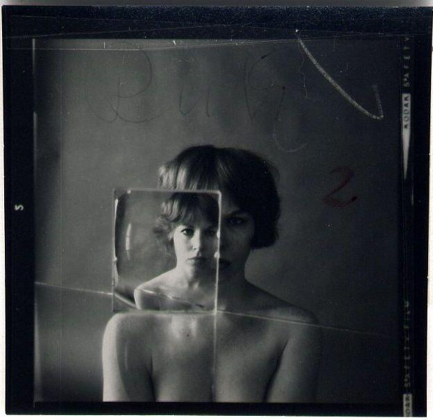 Ruth Bernhard: Billy with Glass 1 (small mat)