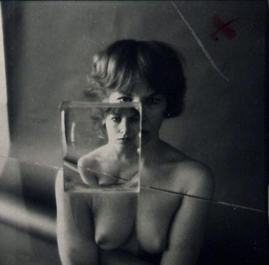 Ruth Bernhard: Billy with Glass 2 (large mat)