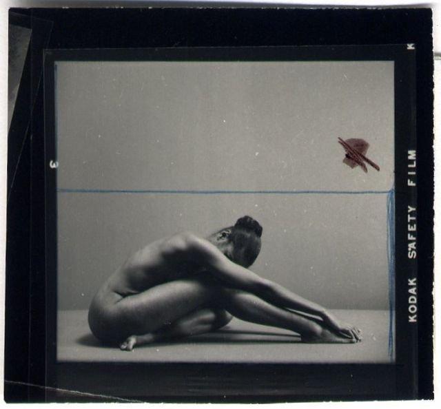 Ruth Bernhard: untitled (Spanish Dancer, variant)