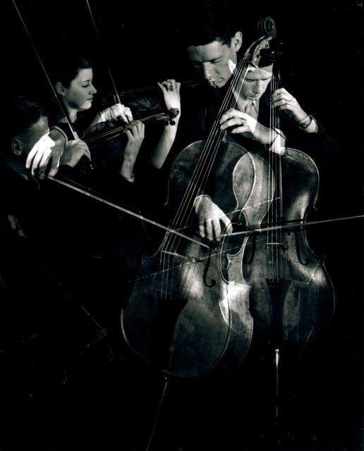 Imogen Cunningham: String Trio, Cornish School