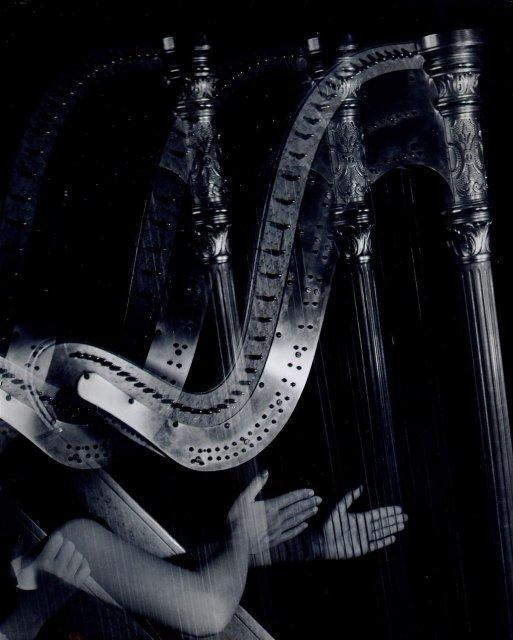Imogen Cunningham: The Three Harps