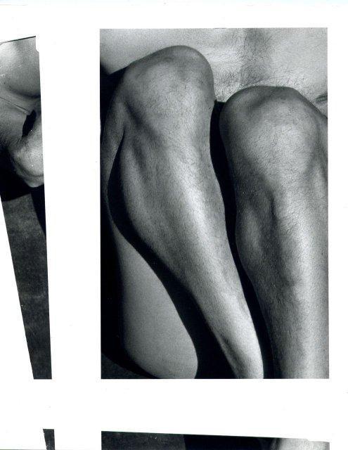 Imogen Cunningham: John Bovington, 1929 (legs)