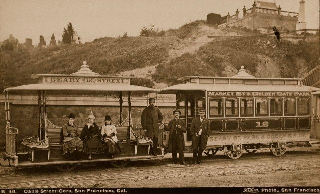 Taber: Cable Street-Cars, San Francisco, Cal