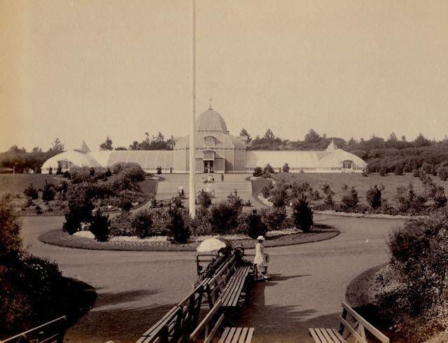 Taber: Conservatory, Golden Gate Park